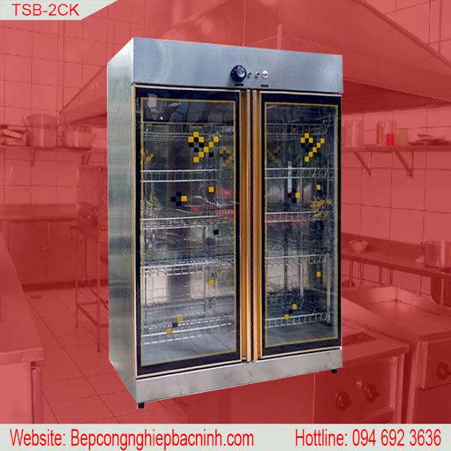 Tủ sấy bát 2 cánh kính TSB-2CK