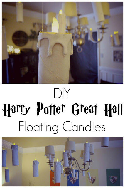 DIY Great Hall Floating Candles