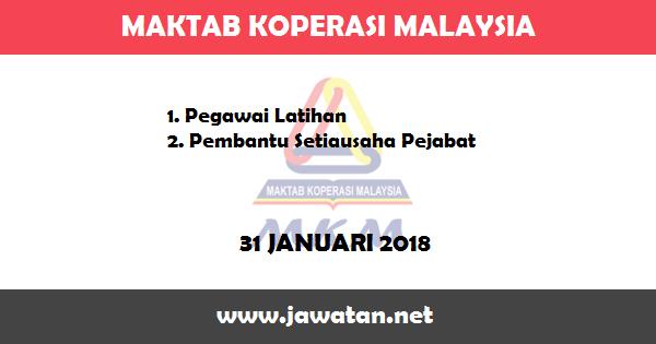 Jawatan Kosong di Maktab Koperasi Malaysia