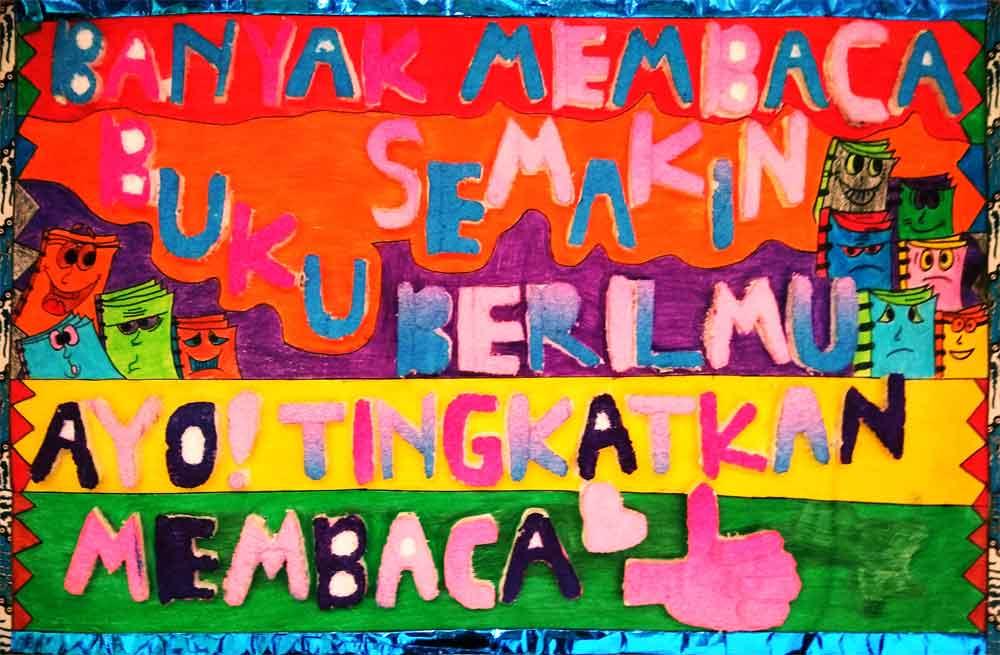 15 Contoh Poster Pendidikan Menarik Dan Mudah Digambar Seni Budayaku