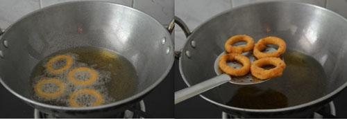 Ring Murukku-Step by Step recipe