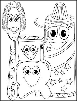 Dibujos Para Colorear De Articulos De Higiene Personal Imagui