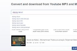 Alternatif Youtubemp3.to dan Ytmp3.net