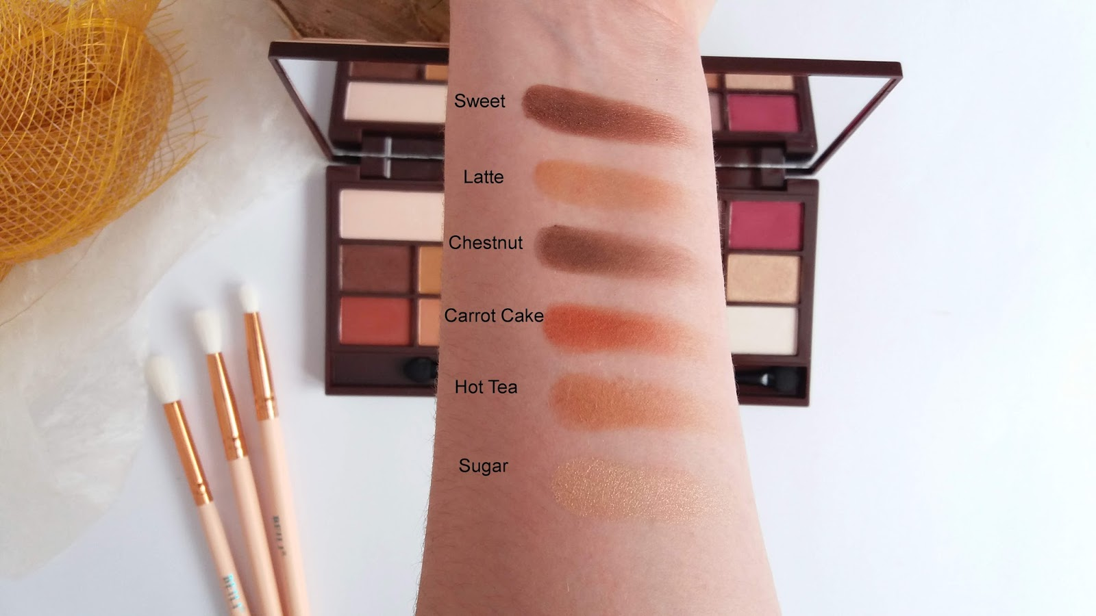 Paleta cieni I Heart Makeup Chocolate Elixir - czy na prawdę pachnie czekoladą?