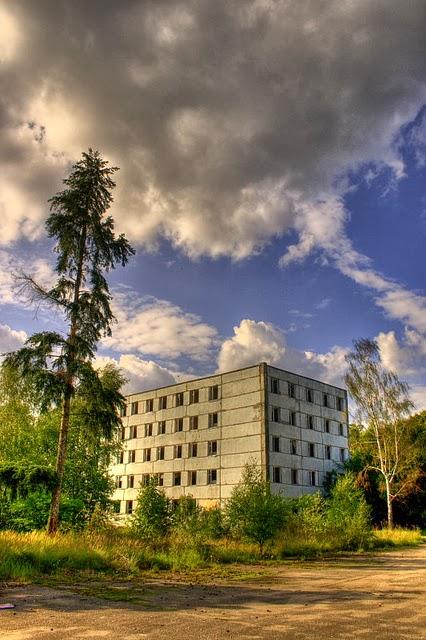 Soviet military base Klomino