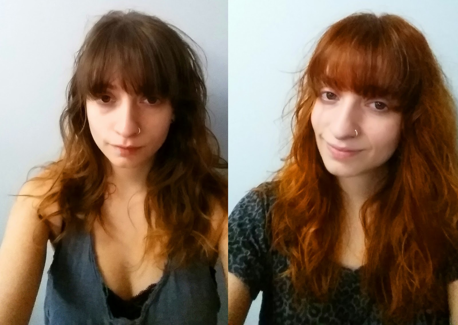 Hair After And Lush Dye Henna