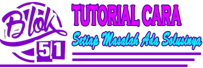 Tutorial Cara