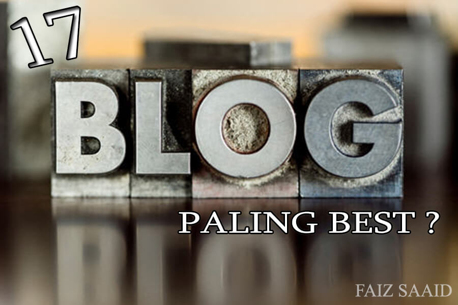 blog paling best dalam sejarah blog