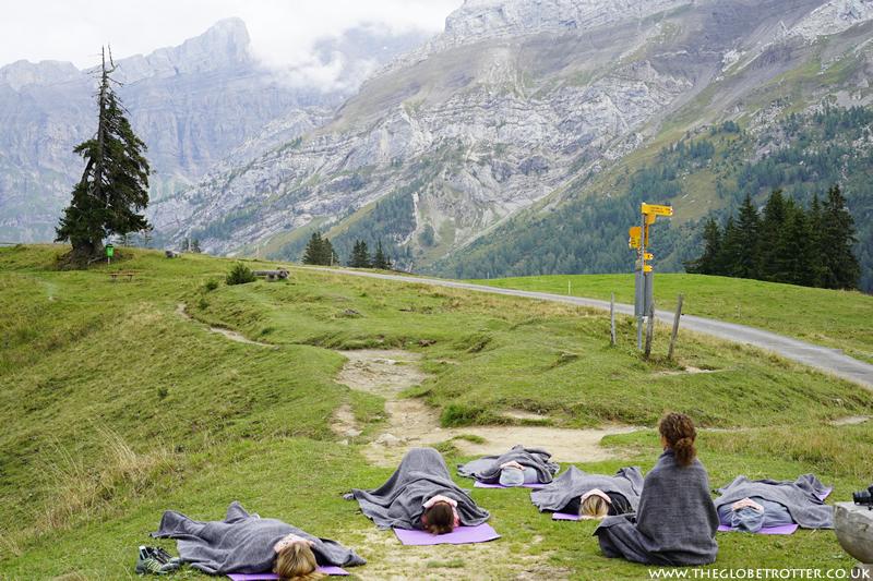 Yoga Session at Lake Retaud