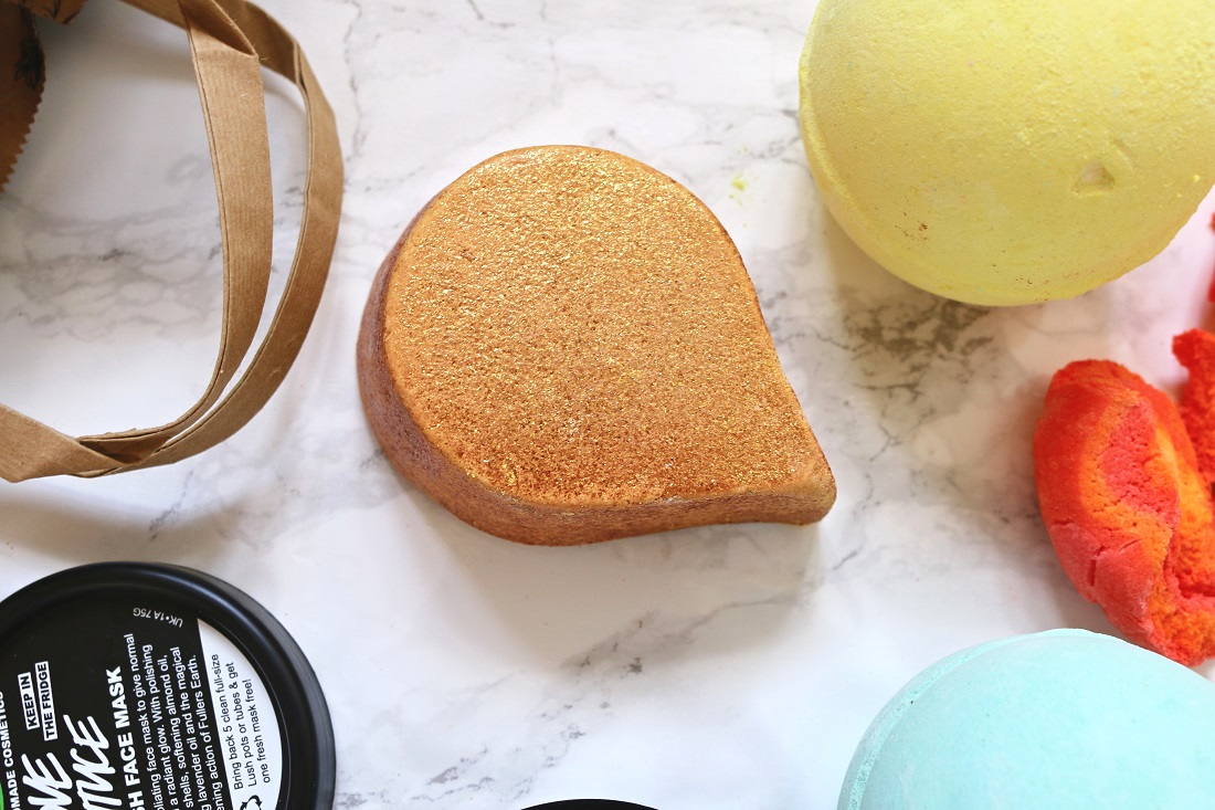 LUSH Haul Sunnyside Bubble Bar
