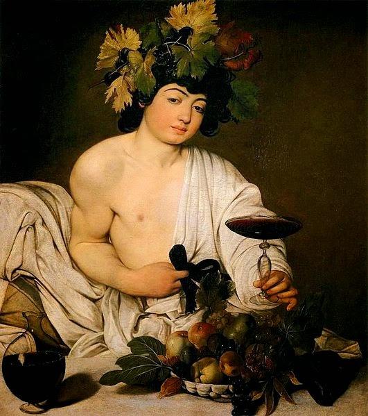 Baco - Caravaggio e suas principais pinturas ~ O gênio rebelde
