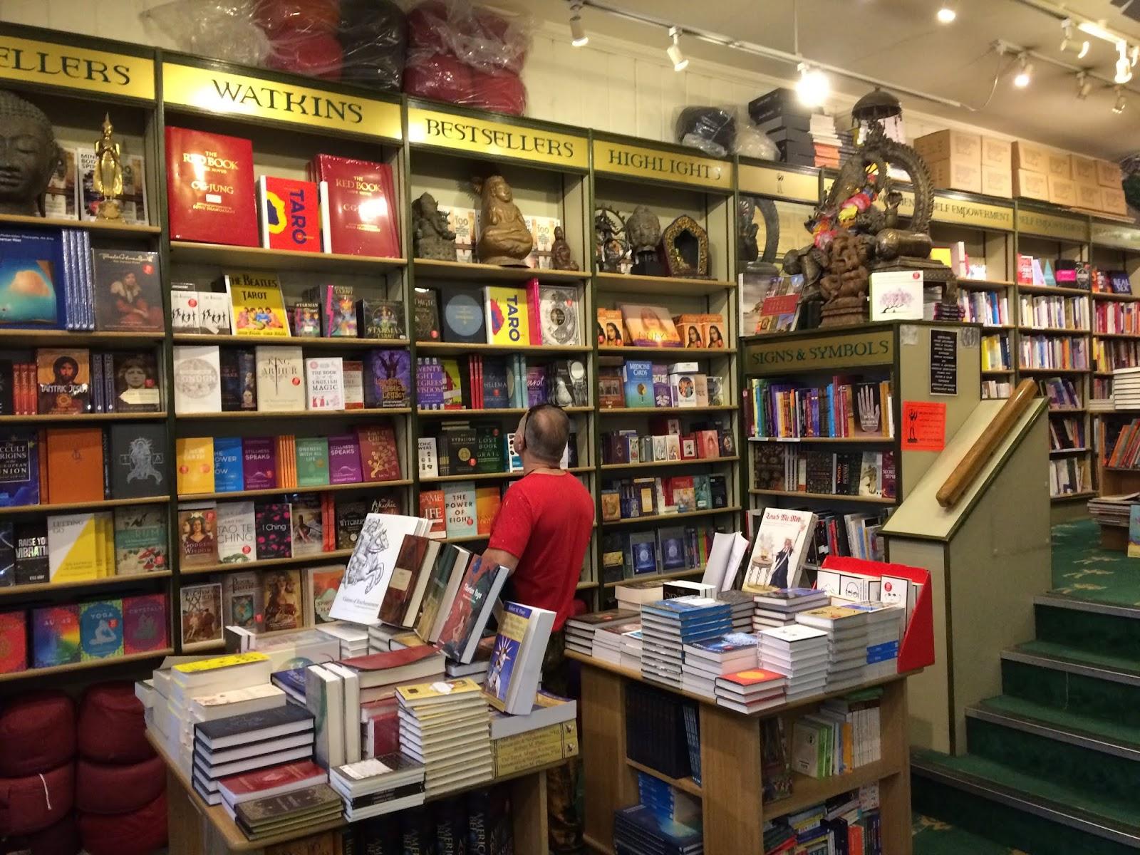 Inside Watkins Books