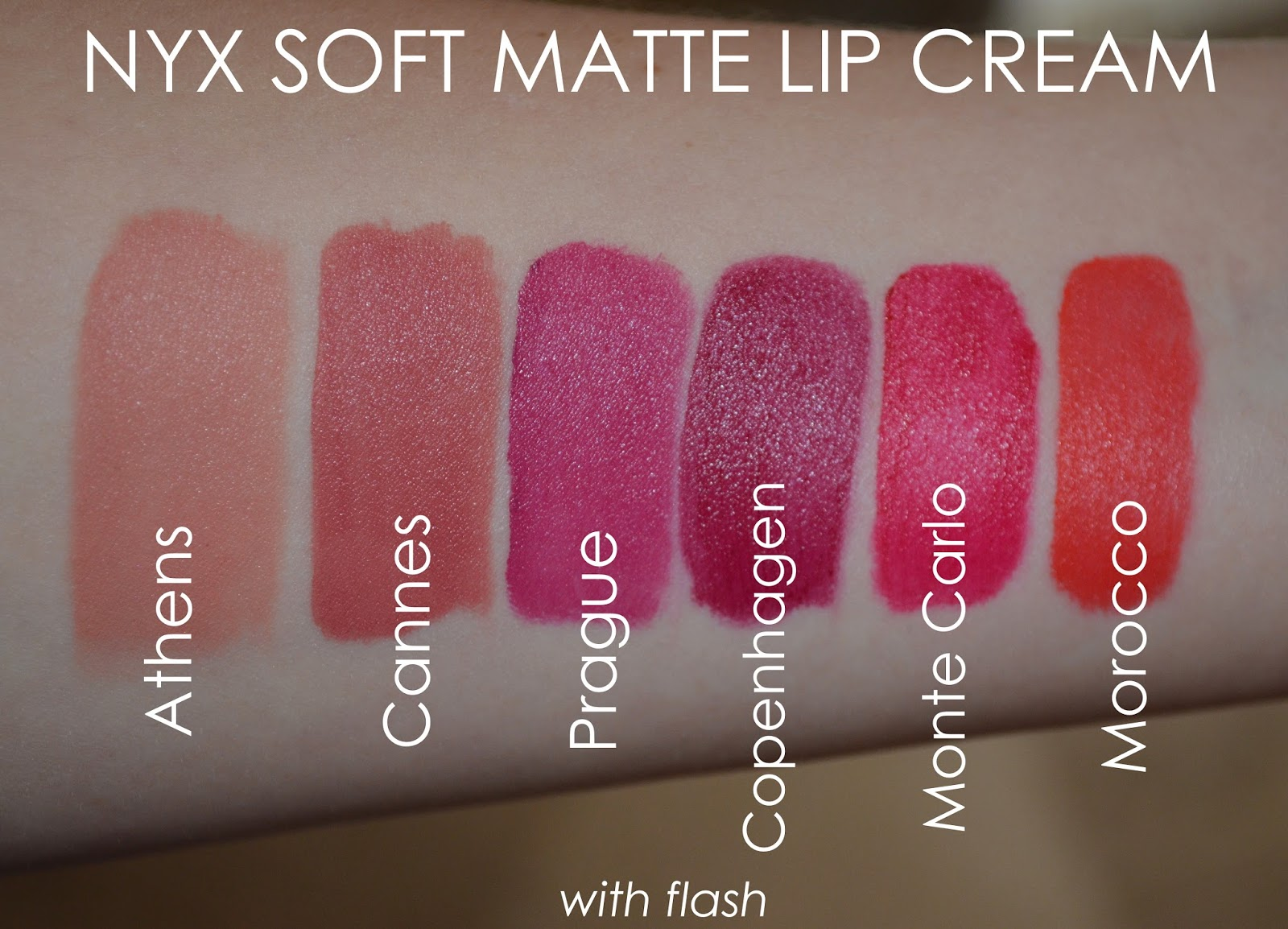 Nyx Soft Matte Lip Cream My Collection Review Swatches La