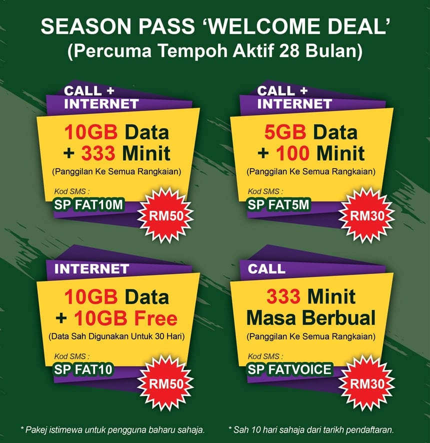 Season Pass Welcome Deal