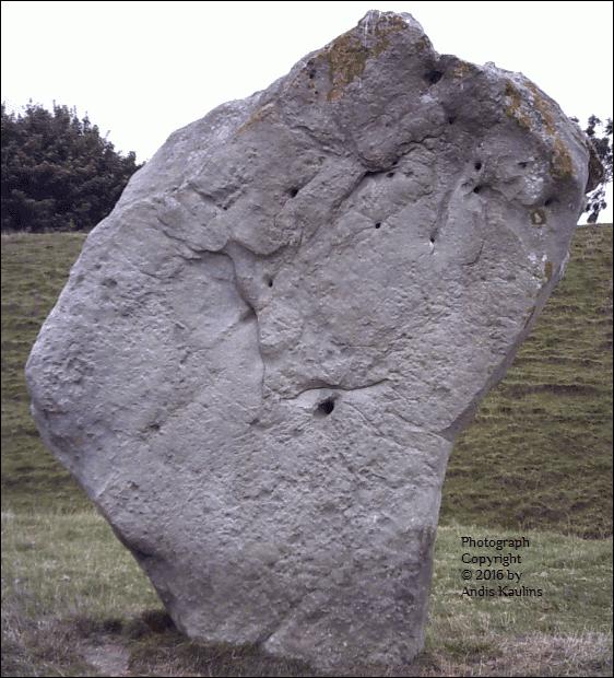 Avebury Stone #9 Leo Face