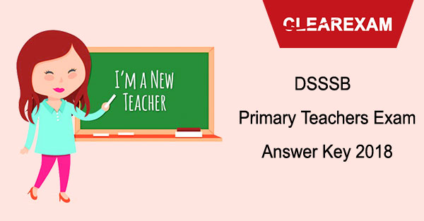 DSSSB PRT Answer Key