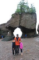 Exploring Hopewell Rocks