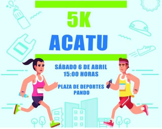 5k ACATU Corremos por el autismo (Pando - Canelones, sáb 06/abr/2019)
