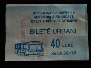 bussilla Albaniassa