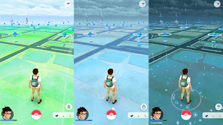 WOW, Pokemon Go Sudah Ada Weather System