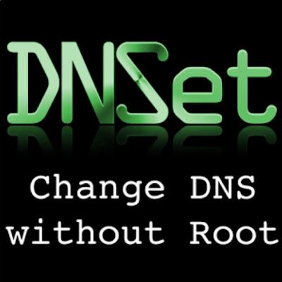 setting dns android menggunakan DNSet