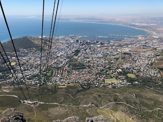 Cape Town South Africa view from tramway