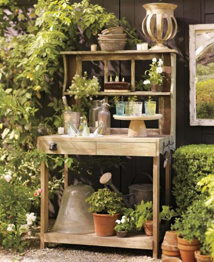 Mod Vintage Life And Yet More Potting Benches