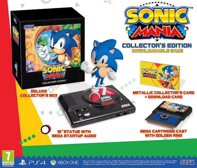SEGA confirma que la edición especial de Sonic Mania llegará a Europa