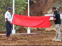 Hindari Polemik, Bendera RRT Tetap Diturunkan Babinsa