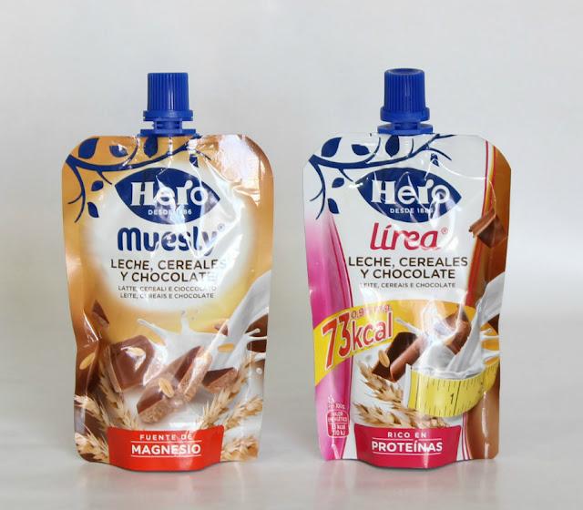 Muesly Leche, cereales y chocolate para beber Hero