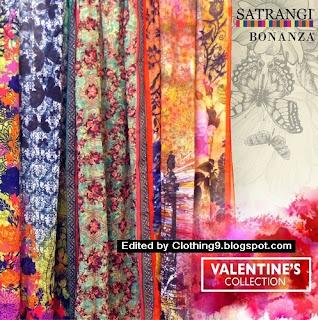 Bonanza Satrangi Valentine Day Collection 2016