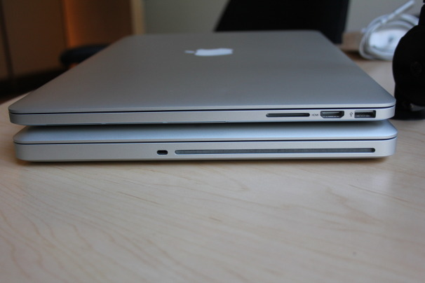 INFOTAINMENT: First Look at Retina MacBook Pro