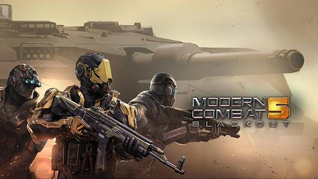 تحميل وتثبيت لعبة الأكشن الرائعة modern combat 5