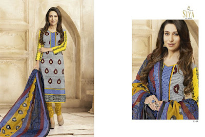 Karishma Celebrity Collection Cotton Dress Material from Siya Siyaram at Best Price