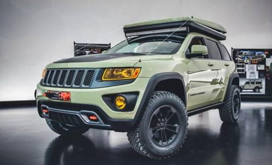 2017 Jeep Cherokee Overland Redesign