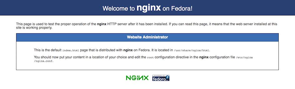 Nginx default