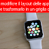 COME ORDINARE LE APP DI APPLE WATCH IN UN LISTA