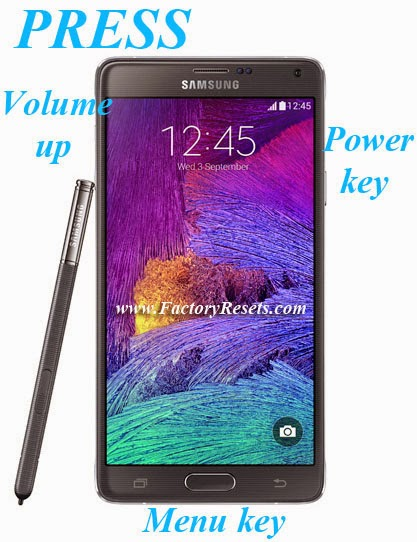 Hard Reset Samsung Galaxy Note 4 Duos