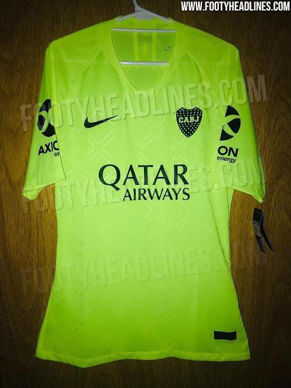 lowest price 3cdea 6bac7 Boca Juniors 18-19 Third Kit Leaked - Footy Headlines
