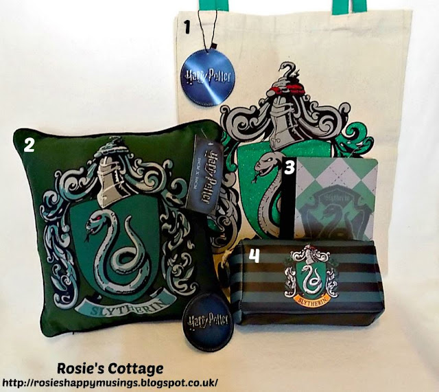 Harry Potter Slytherin House accessories from Primark