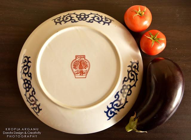 Wielki talerz do wspólnego jedzenia