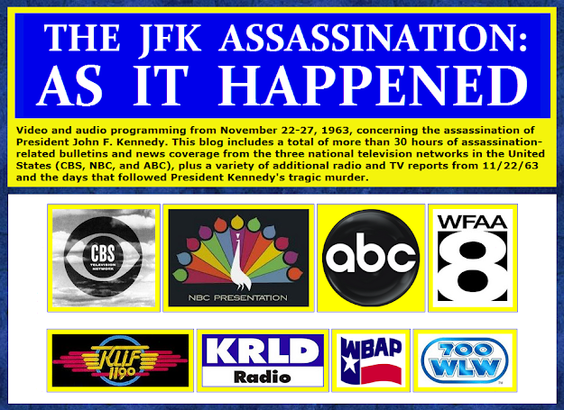 The-JFK-Assassination-As-It-Happened-Log