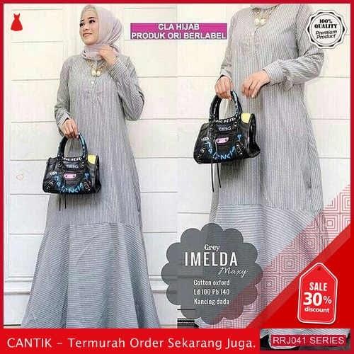 Jual RRJ041D117 Dress Imelda Maxy Wanita Wd Terbaru Trendy BMGShop