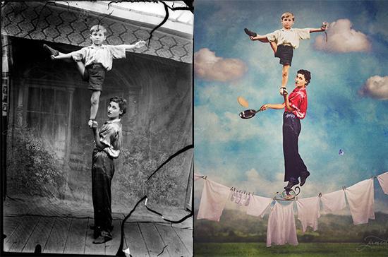 Master Photoshop Iseng Bikin Foto Tua Jadi Menakjubkan