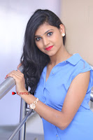 Telugu Actress Mounika UHD Stills in Blue Short Dress at Tik Tak Telugu Movie Audio Launch .COM 0256.JPG