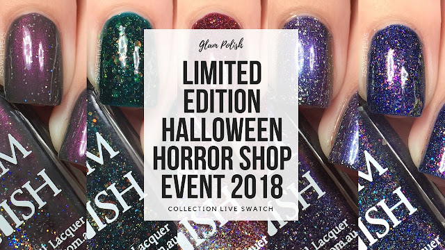 Glam Polish Limited Edition Halloween Horror Shop Polishes