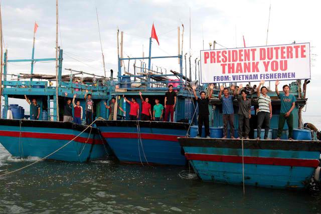 Vietnamese Fisherman thank Duterte