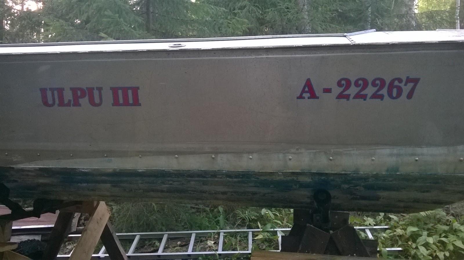 Alumiiniveneen Kiillotus