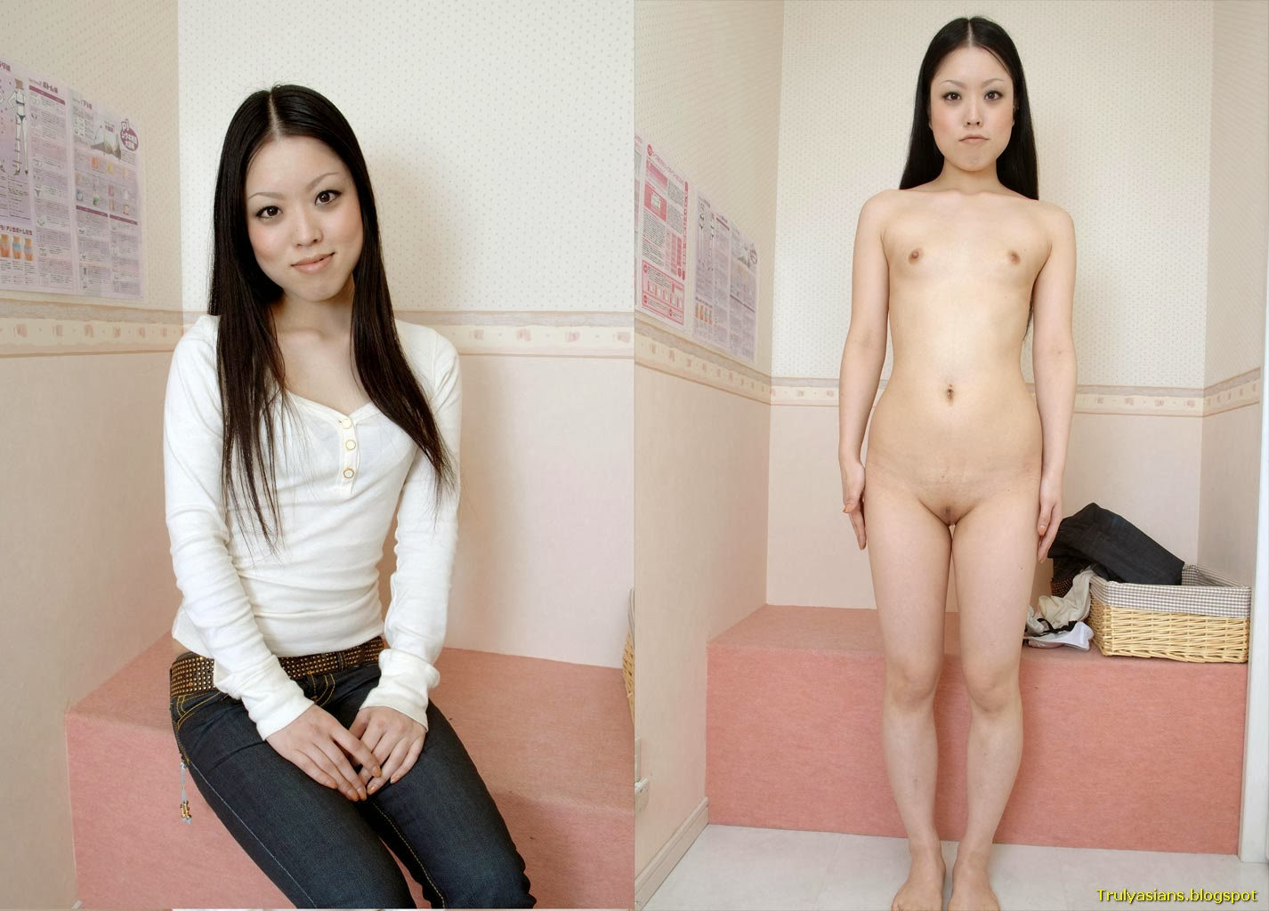 Truly Asians Japanese Amateur Ladies Posing Dressed And -2878