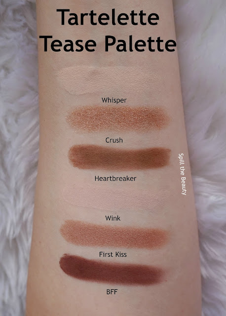 tartelette tease review swatches